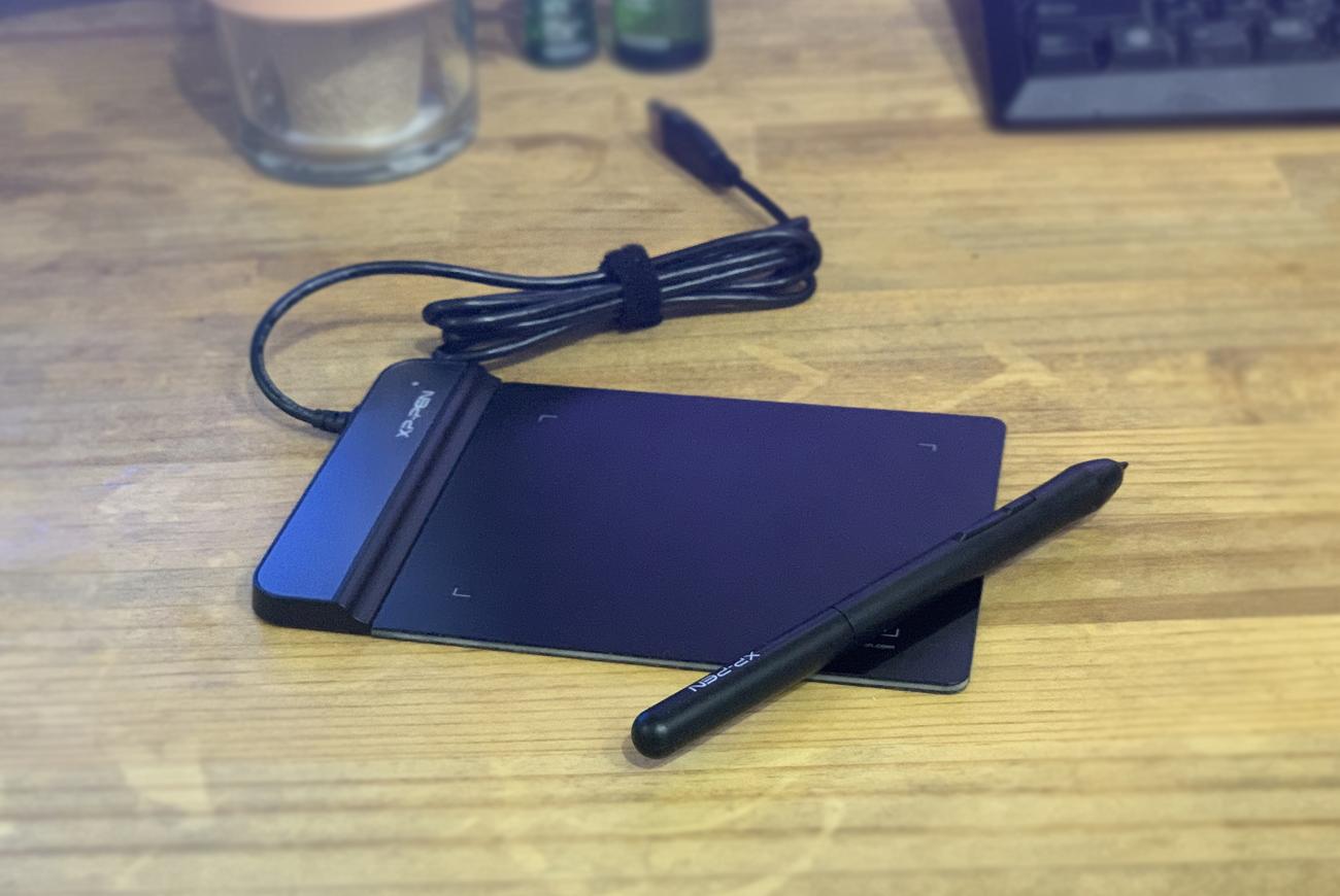 在宅ワークで仕事が捗るペンタブ 。「XP-Pen ペンタブレットStarG430S B」
