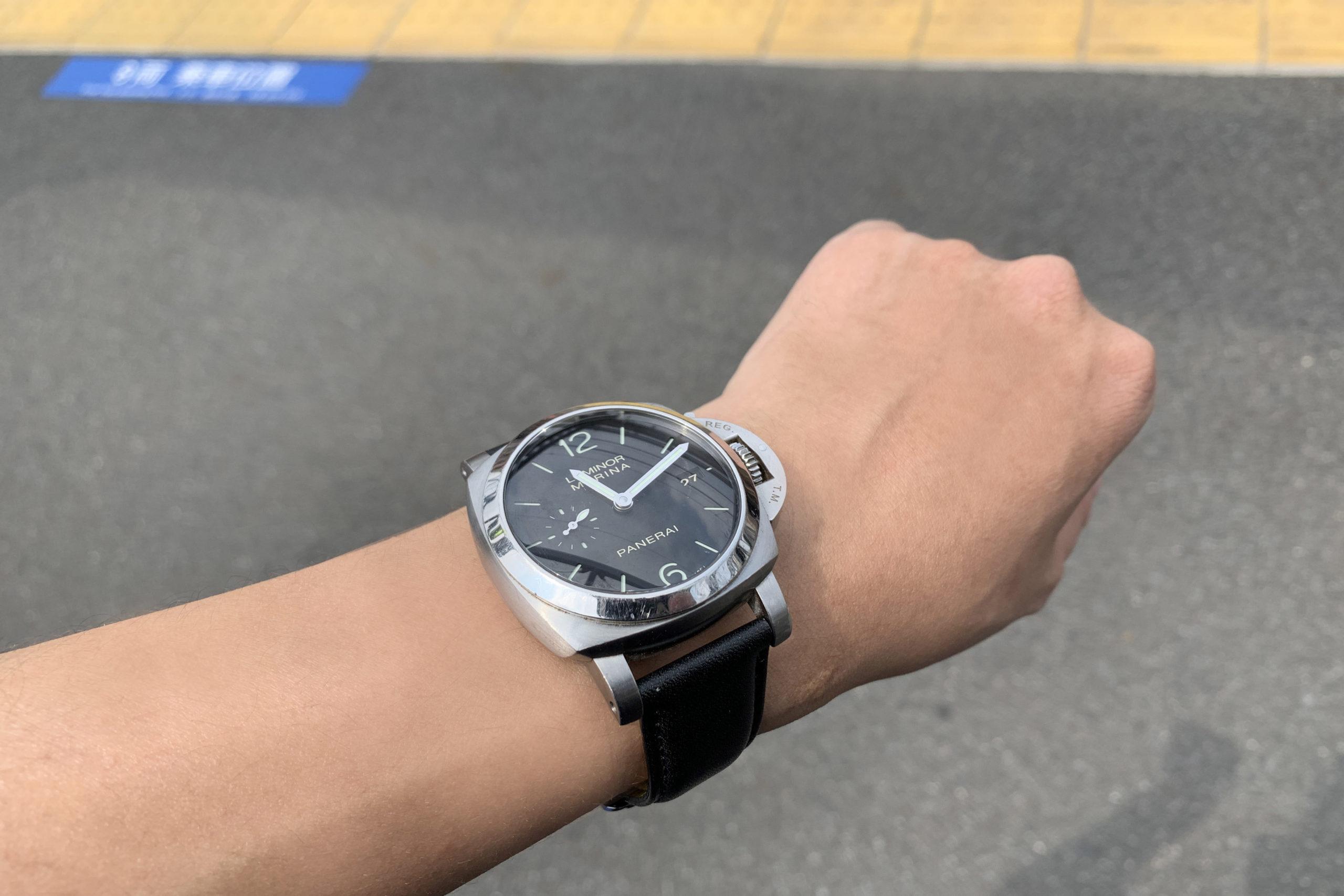 5年愛用し続けている腕時計「パネライ ルミノール マリーナ 1950 3デイズ オートマティック」