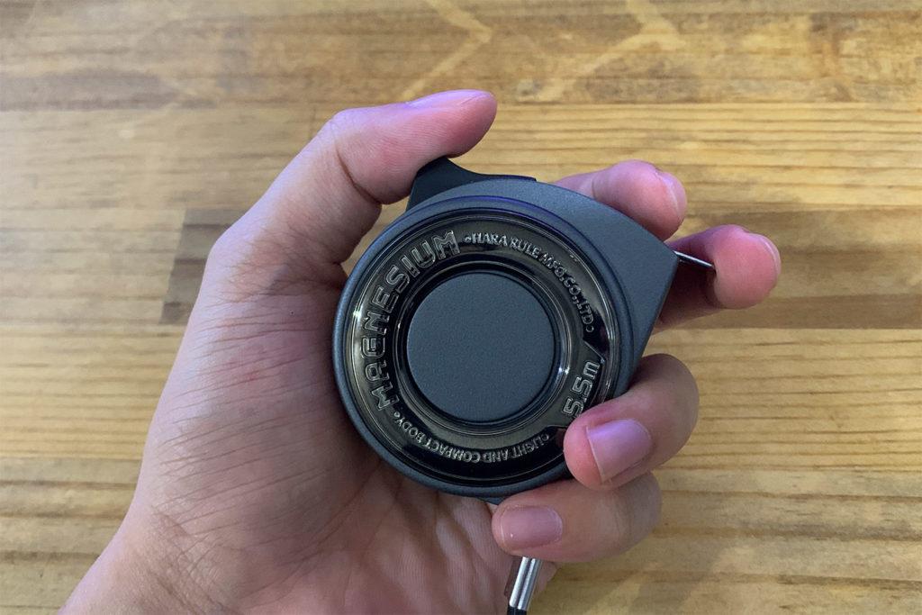 世界最小・最軽量コンセプトの「プロマート MAGNESIUM」のコンベックスをレビュー。軽く、小さく、格好良い。