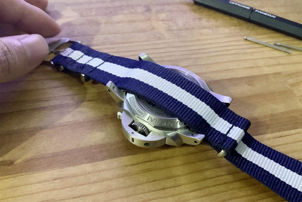 オシャレも安く楽しめる。ダイソーの100円腕時計ベルト