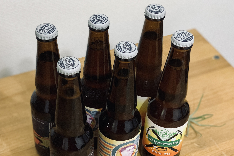 「TOKYO ALEWORKS」が作るクラフトビールを自宅で楽しめる。