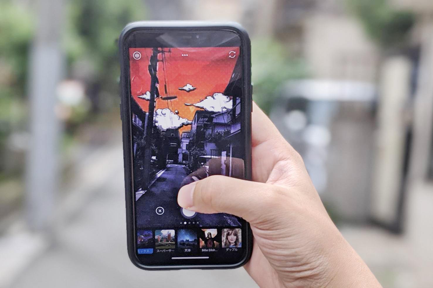 映える写真が撮れるアプリ「Photoshop Camera」のレンズフィルター機能が優秀すぎる!