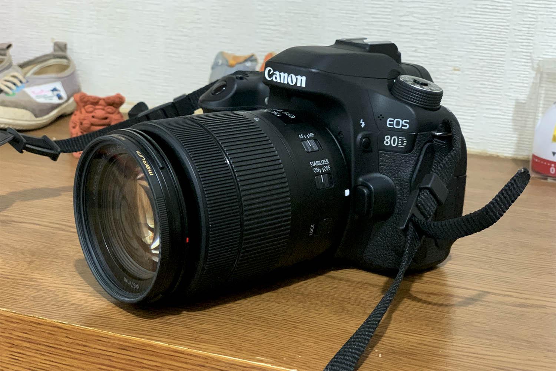 デジタル一眼レフCanon EOS80Dと標準ズームレンズを借りてみた