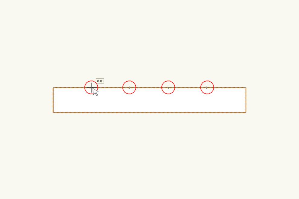 Vectorworksの「定点スナップ」の設定、使い方