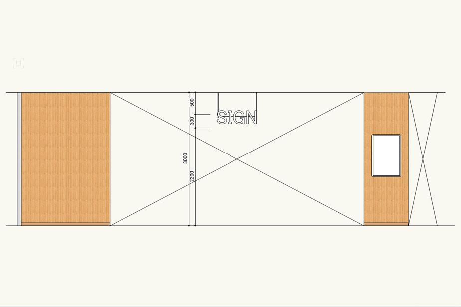 Vectorworksの属性パレットのイメージの使い方。クロスのマテリアルを展開図に表現する方法。