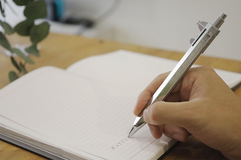 測れる。書ける。ドイツ製ノギス付きボールペン「メッソグラフ」を買いました。