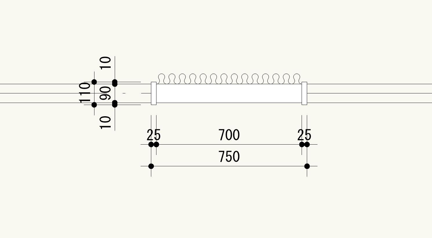 Vectorworksの断熱材ツールを使って簡単にカーテンを描く方法