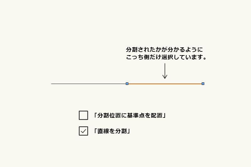 Vectorworksで線を均等に分割する「線分を等分割」の使い方