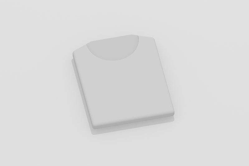Vectorworks 3Dフリー素材「折り畳みTシャツ」を作りました