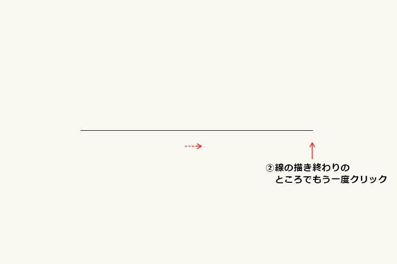 Vectorworksの「直線ツール」の使い方