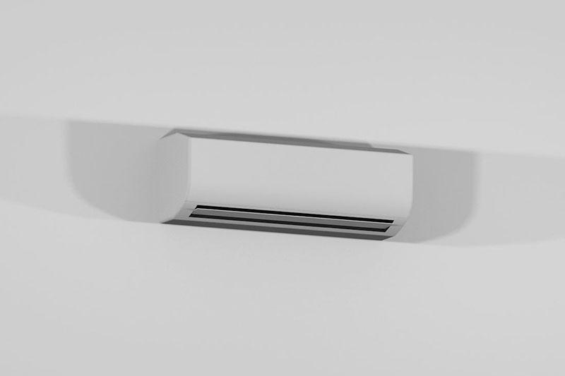 Vectorworks 3Dフリー素材「ルームエアコン」を作りました
